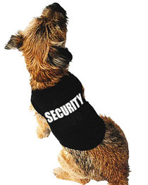 Security Dog T Shirt