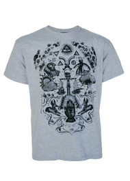 Seeing Eye Grey T Shirt