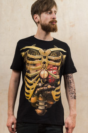 Steampunk Ribs T-Shirt