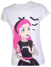 Tattoo Princess Womens T Shirt
