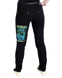 The Dead Low Rise Skinny Jeans