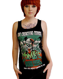 Zombie Brain Eaters Beater Vest
