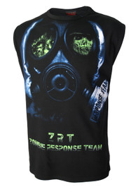 Zombie Face Mask Muscle Vest