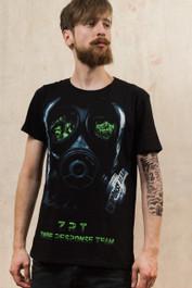 Zombie Face Mask T-Shirt