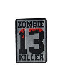 Zombie Killer 13 Iron On Patch
