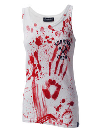 Zombie Killer White Beater Vest