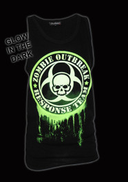 Zombie Response Glow in the Dark Black Vest