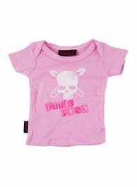 Pink Lil Punk Kids T Shirt