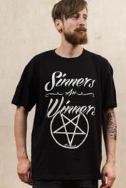 Sinners Are Winners Mens T Shirt
