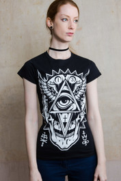 All Seeing Eye Womens T Shirt
