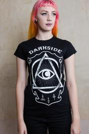 Circle Eye Womens T Shirt