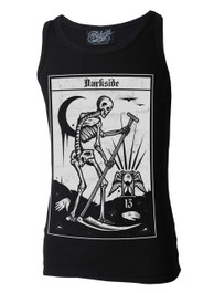 Death Tarot Card Beater Vest