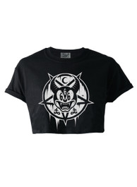 Mickey 666 Crop Top