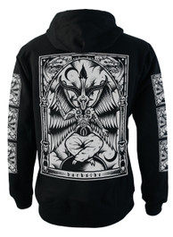 Baphomet Fleece Zip Hood