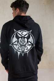 Mickey 666 Fleece Zip Hood