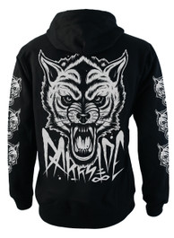 Wolf Fleece Zip Hood