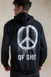 Peace of Shit Fleece Zip Hood