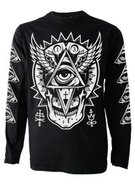 All Seeing Eye Mens Long Sleeve T Shirt