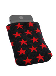 Red Star Phone Pouch