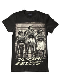 The Usual Horror Suspects Mens T-Shirt