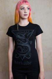 Snake Womens T Shirt