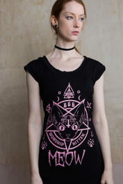 Kitten 666 Fitted T Dress