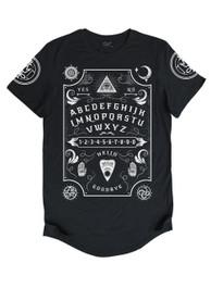 Ouija Board Mens Longline T Shirt