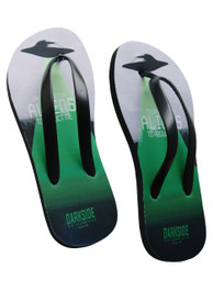 Alien Abduction Flip Flops
