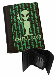 Alien Chill Out Mens Wallet