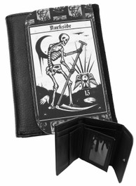 Death Tarot Card Mens Wallet