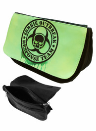 Zombie Respopnse Team Green Zip Up Make Up Bag/Pencil Case