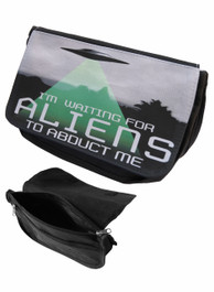 Alien Abduction Zip Up Make Up Bag/Pencil Case