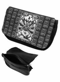 Baphomet Zip Up Make Up Bag/Pencil Case