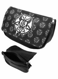 Mickey 666 Zip Up Make Up Bag/Pencil Case