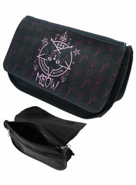 Kitten 666 Zip Up Make Up Bag/Pencil Case