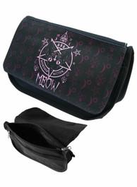 Kitten 666 Zip Up Make Up Bag/Pencil Case