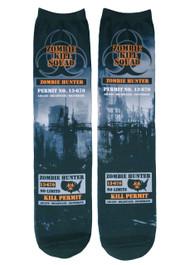 Zombie Hunter City Socks