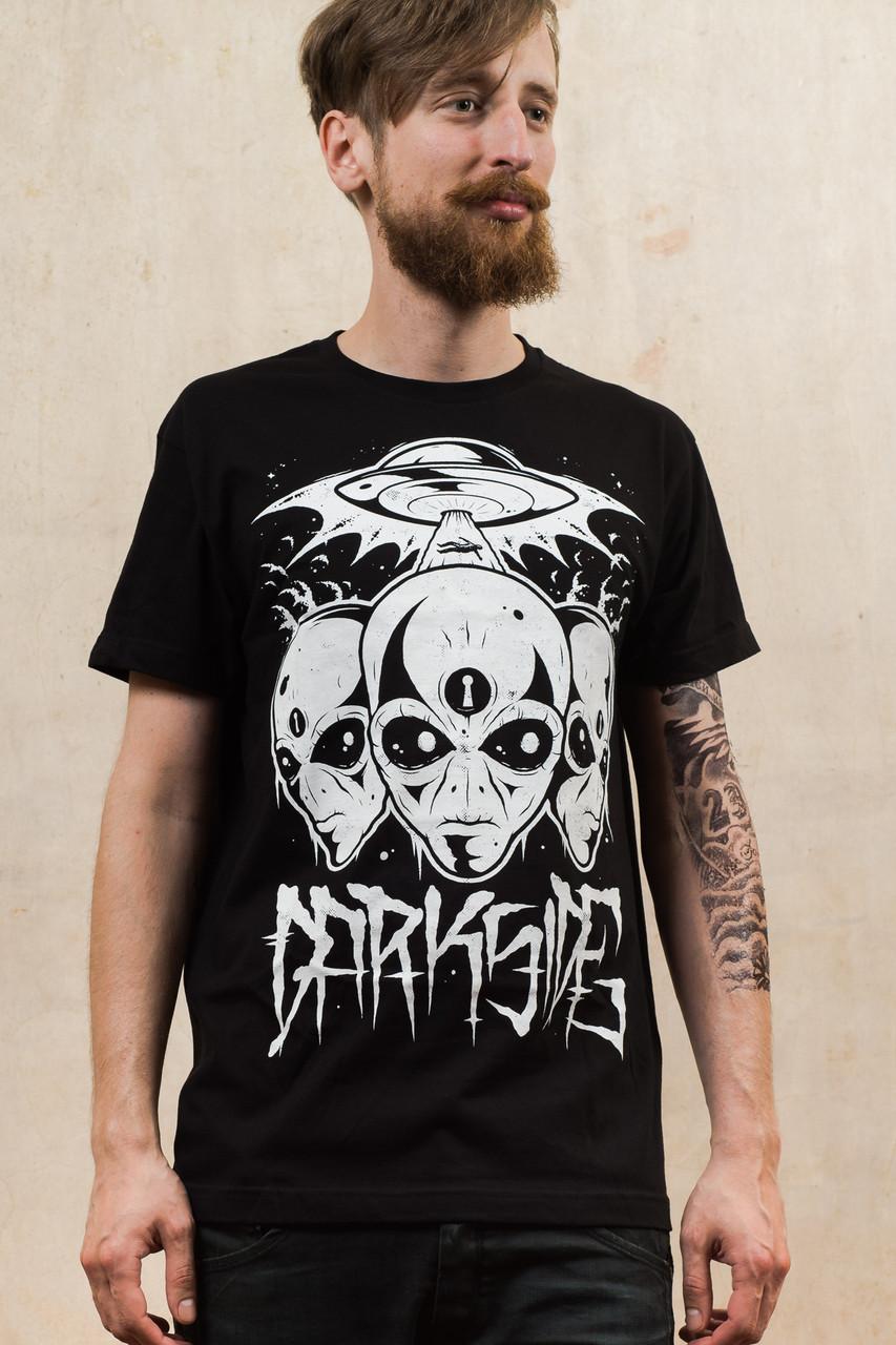 61c5eac9d3ae Triple Alien Mens T-Shirt. Image 1