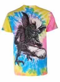 Gremlin Pastel Spiral Tie Dye T Shirt