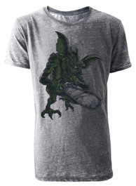 Gremlin Mens Burnout T Shirt