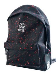 Black with Red Splatter Backpack