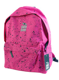 Pink With Black Splatter Backpack