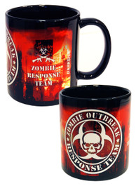 Zombie Outbreak Red City Mug