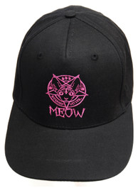 Kitten 666 Black Snapback Cap