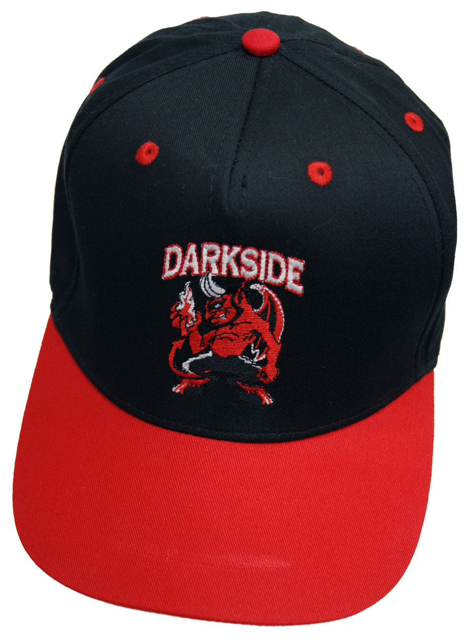 862c2dc60a1 Darkside Devils Own Red and Black Snapback Cap. Image 1