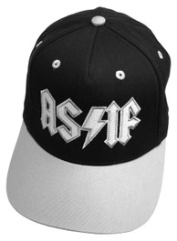 As If Grey and Black Snapback Cap
