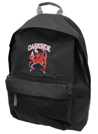 Devil Corps Black and Grey Embroidered Backpack