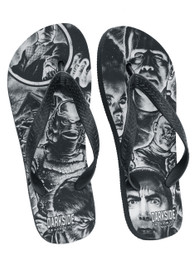 Monster Mash Up Flip Flops