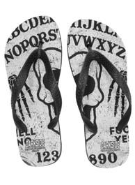 Ghoul Ouija Board Flip Flops