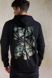 Horror Mirror Fleece Hood
